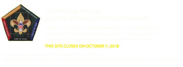 Hoosier Trails Council - Wood Badge